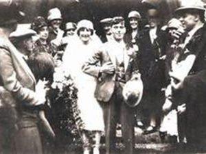 Weddomg of Arthur and Maud Davies 1928